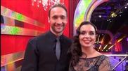 Dancing Stars - Дарин и Ани минути преди да излязат на сцената (22.04.2014г.)