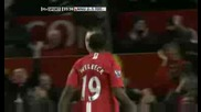 Manchester United 2 - 1 Tottenham Hotspur(berbatov Goal) 36.avi
