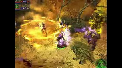 Dungeon Siege 2 Gameplay