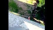 Клисура скок с бънджи на Галето