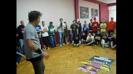 B-boy Cico Workshop In Bulgaria