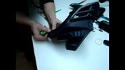 Облепване на детайли с карбоново фолио