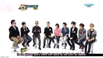Бг превод! Teen Top - Weekly Idol [3-4]