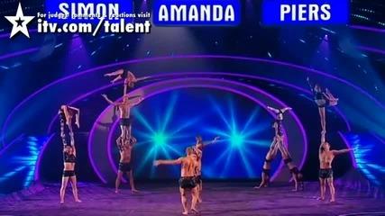 Тези хора, не познават гравитацията / Britains Got Talent 2010 - The Final