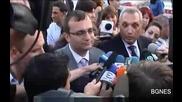 Лидерите на Синята Коалиция казаха,  че ще подкрепят антикризисната програма на Герб