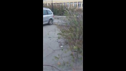 """От """"Моята новина"""": Тротоар без достъп, близо до училище"""
