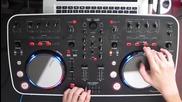 Dj Ravine's We Love Electro mix w_ djay and a Pioneer Ddj Ergo -