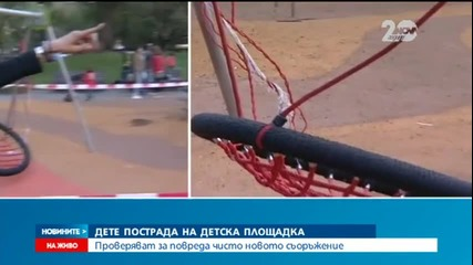 Дете с опасност за живота след падане на детска площадка в София - Новините на Нова