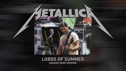Metallica - Lords of Summer (garage Demo Version)