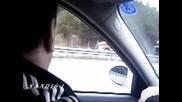 Жена кара в насрещното по магистрала