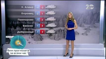 Прогноза за времето (08.12.2014 - централна)