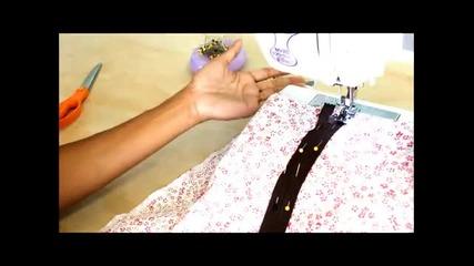 Как да си направим сами дреха с цип
