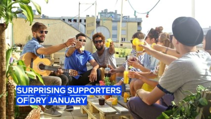 Those jumping on the Dry January train are totally unexpected