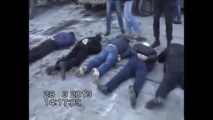 Офицери от Фсб арестуват банда на летище Внуково
