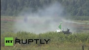 Russia: A real blast! See Tank Biathlon World Championship highlights