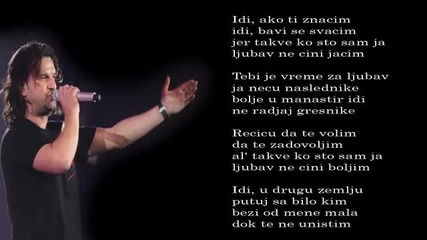 Aca Lukas - Ne radjaj gresnike - (Audio 1998)