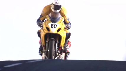 Slow Motion Motorbike Freestyle