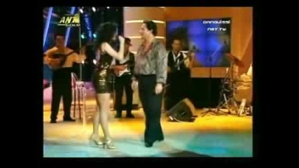 Anna Vissi and Makis Christodoulopoulos.flv