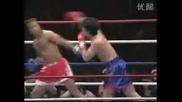 Beginner Fighter vs Taekwondo