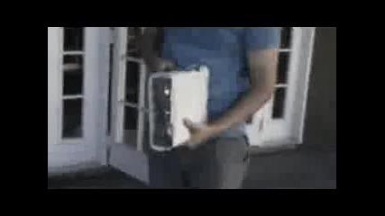 разбиване на xbox 360 :d