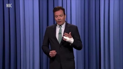Jimmy Fallon Reveals Gruesome Finger Injury