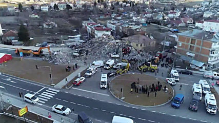 Turkey: Drone footage captures aftermath of Elazig's 6.8 magnitude quake