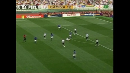 Англия-бразилия 1-2 2002 world cup