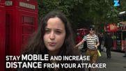 Лондон: Как да се предпазите при нападение с нож
