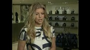 Fergie Представя Коледна звезда от  250 000 Кристала