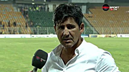 Костов: Далеч сме от критериите на съвременния футбол