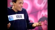 Music Idol 2 - 25.02.08г. - Кастинга в Русе - Сташна Песен High Quality