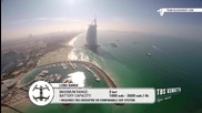 Полет с дрон над Бурдж Халифа