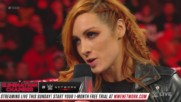 Charlotte to replace Becky Lynch in Raw Women's Title Match at WrestleMania: Raw, Feb. 11, 2019