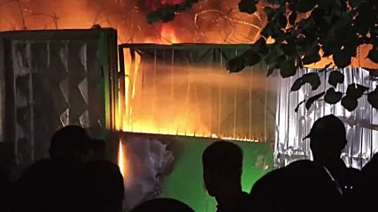 Ukraine: Clashes break out in Kiev over illegal construction site