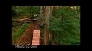 Невероятно Спускане С Байк В Гората