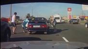 Една типична картинка от руските пътища, която се наблюдава често и в България!