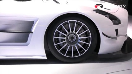 Roadfly.com - Mercedes - Benz Sls Amg Gt3 debut at New York International Auto Show