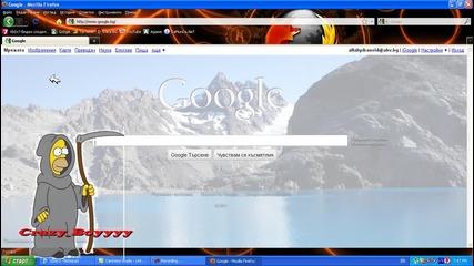 Как да смените фоновото изображение на Google [hq]