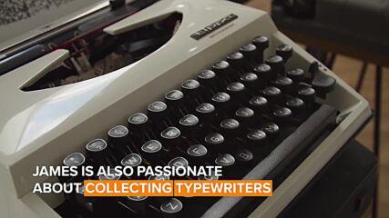 Next level hobbies: The art of typewriting