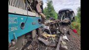Жертви и десетки ранени след сблъсък на два влака в Чехия