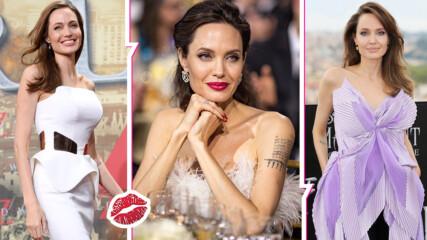 Звезден рожденик: Сексапилната Анджелина Джоли на 45