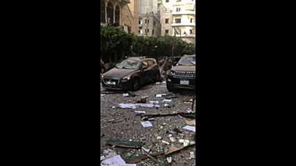Lebanon: Scores of injured on devastated Beirut street after explosions *GRAPHIC*