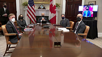 USA: Trudeau tells Biden US leadership 'has been sorely missed' during first meeting