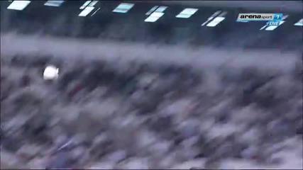 Божинов с гол за Партизан срещу Металац