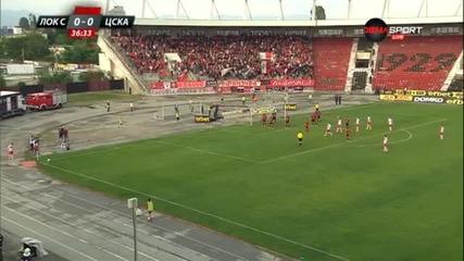 Локомотив София - ЦСКА 0:0 /първо полувреме/