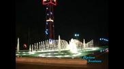 Един от най - красивите фонтани в света - Баку под звуците на под музиката на Щраус