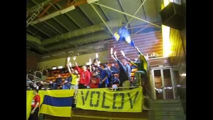 Жълто - Синята Трибуна (рожден ден на Димитър Точев)баскетбол Шумен - Берое (кадети)