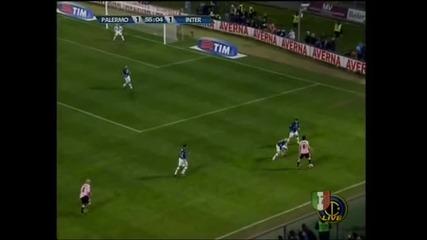 Highlights : Palermo - Inter 1:1