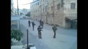 Израелски войници танцуват на песента на Kesha - Tick Tock Rock the Casba in Hebron