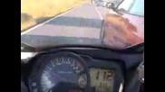 Инцидент С Мотор И Кола По Време На Движение